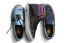 Psychedelic Sneaker Series - Vans Vault Decorated Its Sneakers with Iconic Art from Robert Williams