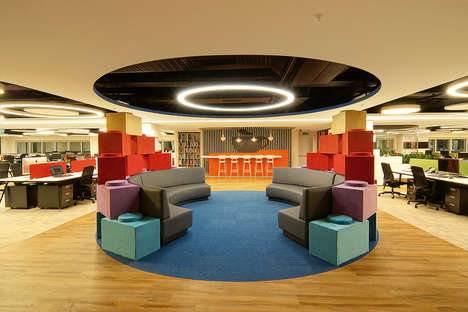 Childlike Office Spaces - This Playful Office Was Designed for a Baby Product Company