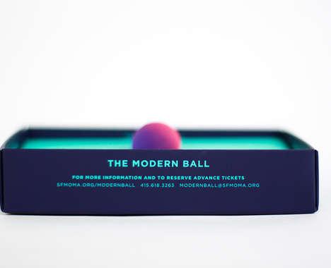 Playful Ball Invitations