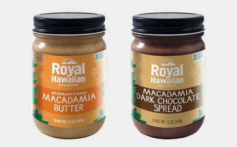 Macadamia Nut Butters - These New Spreads Offer a Fresh Take on Traditional Nut Butters