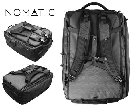 Multi-Feature Travel Sets - The 'Nomatic' Bag's Multiple Features Make It Perfect for Backpacking