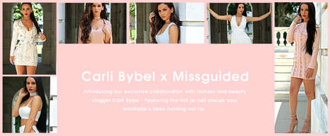 Beauty Vlogger Fashion Collabs - Missguided x Carli Bybel Collection Includes Budget-Friendly Pieces