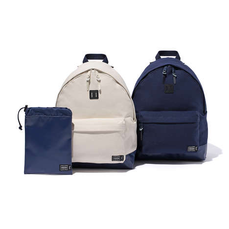 Streetwear-Branded Travel Bags - Stussy's Beach Pack Collection Includes Various Carriers for Summer