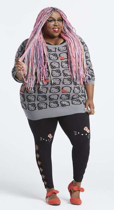 Plus-Size Anime Character Clothing - The Hello Kitty x Torrid Collection is Available in Plus Sizes