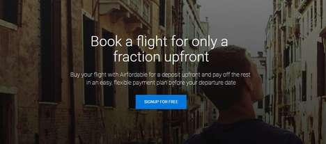 Airplane Ticket Budgeting Services - 'Airfordable' Pre-Buys Tickets and Lets Users Pay Over Time