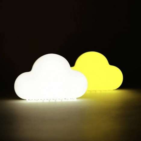 Gesture-Based Night Lights - This Rechargeable Night Light Comes in an Endearing Cloud Shape