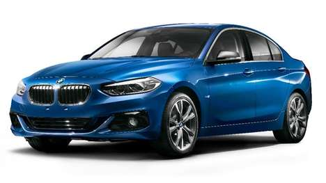 Spaciously Luxurious Sedans - This New BMW Sedan is Targeted Towards the Chinese Luxury Market