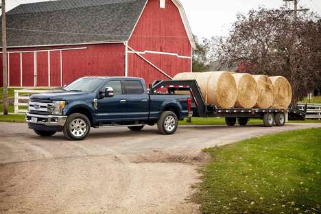 Heavy-Hauling Trucks - Ford's Heavy-Duty Truck Weighs Less But Can Haul More Than Ever