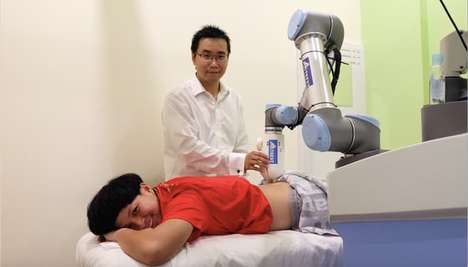 Massage-Giving Robots - This Device Uses Imaging and Pressure-Sensing to Give Robotic Massages