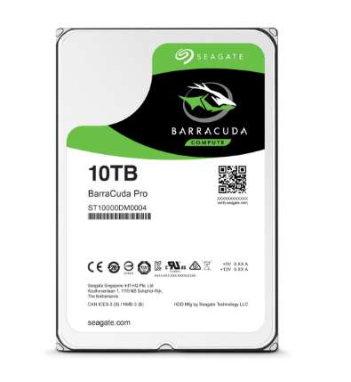 Mammoth Hard Drives - Seagate's 10 TB Hard Drive Offers Incredibly Expansive Storage Space