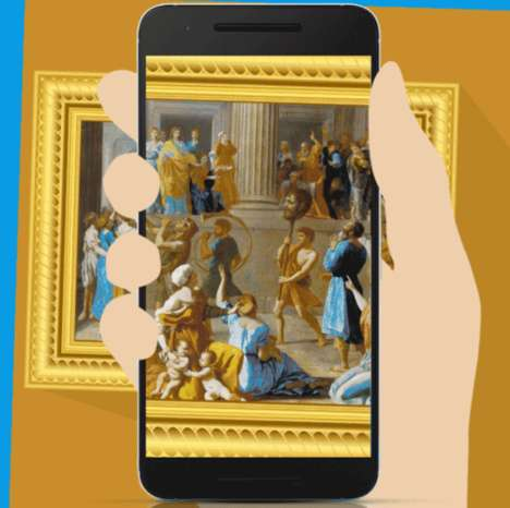 Worldwide Museum Apps - The Google Arts & Culture Platform Lets Users See Art From Around the World