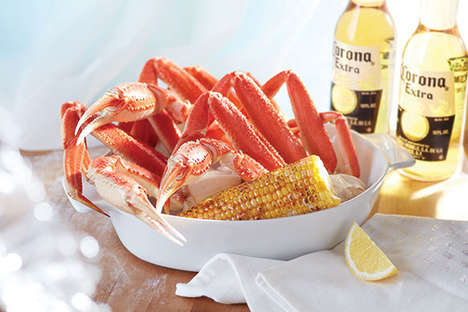 Crab-Themed Restaurant Promotions - Red Lobster is Bringing Back Crabfest for Summer 2016