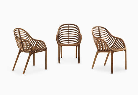 Palm Tree-Inspired Chairs - The 'PAM' Chair Gives Off a Tropical Feel