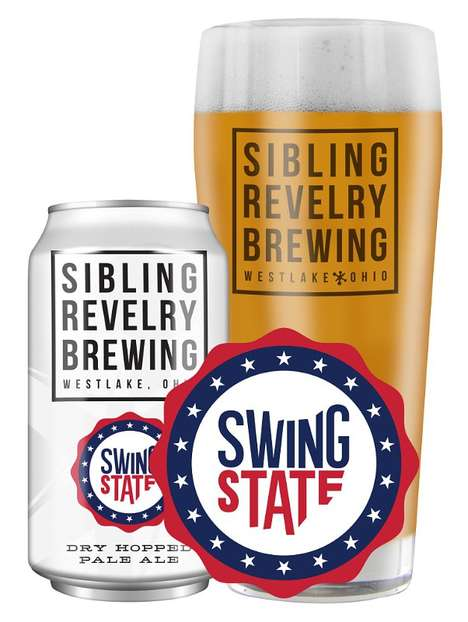 Political Pale Ales - Sibling Revelry Brewing's New Swing State Beer Celebrates the State of Ohio