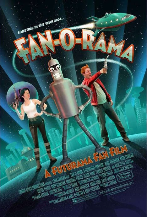 Live-Action Cartoon Films - 'Fan-O-Rama' is a Live-Action Remake of the Beloved Futurama Series