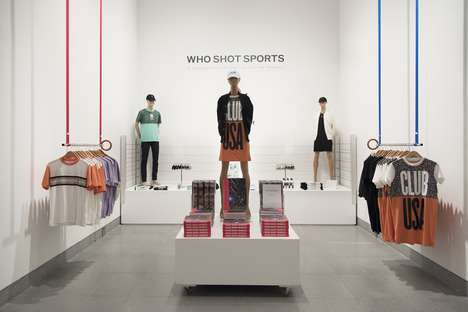 Olympic-Inspired Sports Shops - This Sports Pop-Up Shop is an Extension of a Museum Exhibition