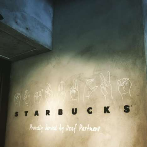 Sign Language Coffee Shops - Starbucks Collaborated with SID to Hire and Train Deaf Baristas