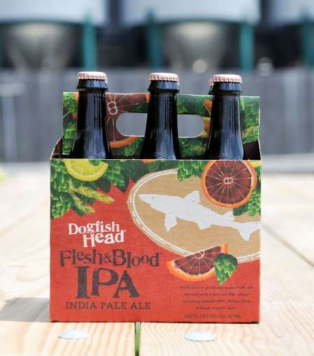 Uniquely Named Beers - This One-of-a-Kind India Pale Ale is Named 'Flesh & Blood'