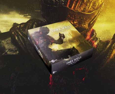 Combat-Themed Board Games - 'Dark Souls: the Board Game' Brings a Popular Video Game to Life