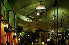Rainforest-Inspired Bars - Studio Modijefsky Designed an Immersive Tropical Bar in Amsterdam