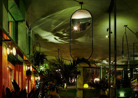 Rainforest-Inspired Bars - Studio Modijefsky Designed an Immersive Tropical Bar in Amsterdam