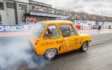 Drag Racing Electric Cars - The 'Flux Capacitor' is the World's Fastest Street-Legal EV