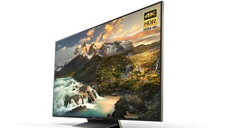 Sharp 4K Televisions - Sony's 'Z Series' TVs Set a High Water Mark for Luxury Televisions