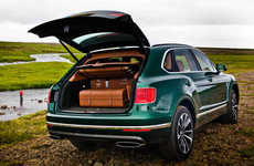 Luxe Fly Fishing Autos - The Bentayga Fly Fishing SUV Includes an Expansive Built-In Tackle Box