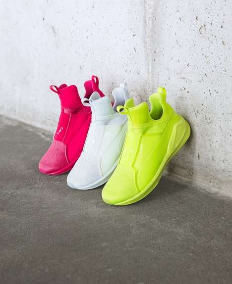 Highlighter-Hued Sneakers - The Puma Fierce Brights Collection Comes in Ultra-Bright Shades