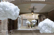 Interactive Cloud Installations