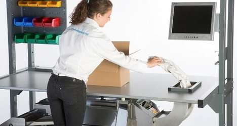 Ergonomic Packing Stations - The 'Packstation' by Easypack is Designed to Provide Worker Comfort