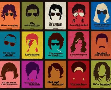 Minimalist Celebrity Posters
