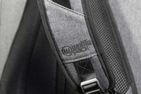 Swinging Camera Backpacks - The Wolffepack Capture Uses a Trapeze-Inspired Harness System