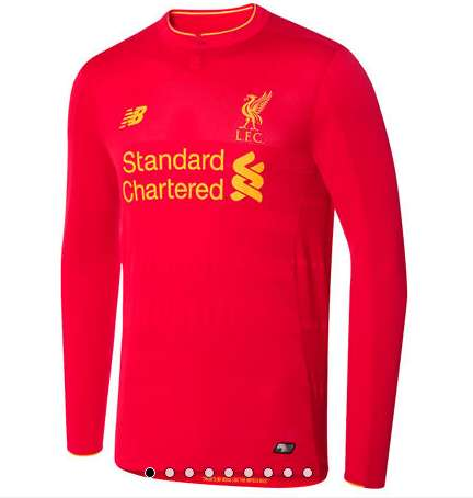 Spectacular Soccer Apparel - The New Liverpool Home Kit Promises Optimum Performance and Style