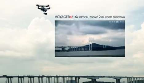 Superzoom Camera Drone - The Walkera Voyager 4 Offers 360-Degree Photographic Capabilities