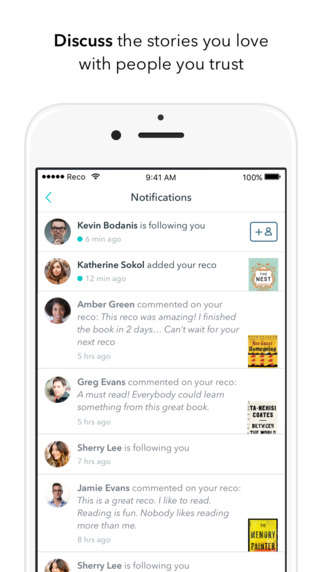 Social Book Recommendation Apps - The Reco App Encourages Bookworms to Share Recommendations