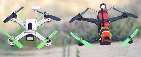 Trailblazing Racing Drones - The TANKY Racing Drone Offers Next-Level Trickery and Control