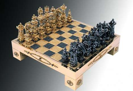 Kingly Luxury Chess Sets - The 'Royal Chess Set' Costs More Than a Supercar