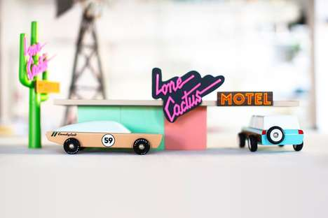 Retro Miniature Car Sets - Candylab Toys' New Campaign is an Homage to Mid-Century American Autos
