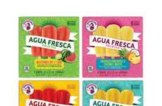 Agua Fresca Popsicles - These Fresh Summer Popsicles are Made with Latin American Recipes