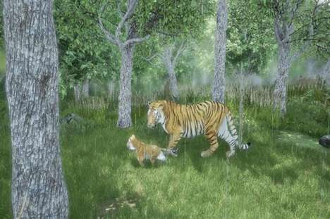 Wildlife Protection Simulators - WWF's Newest Tiger Conservation Campaign Leverages Virtual Reality