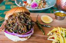 Chili-Stuffed Beef Sandwiches - The Indian Street Food Co. Puts a Global Spin on Western Burgers