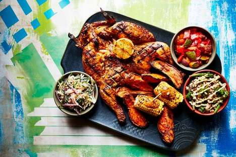 Shareable Chicken Platters - Nando's 'Fino Platter' Comes with a Range of Flavorful Sides for Two