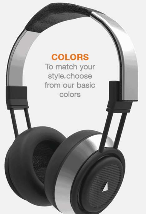 Hybrid Speaker Headphones - The Apollo Headphones Convert To Speakers At the Push Of a Button