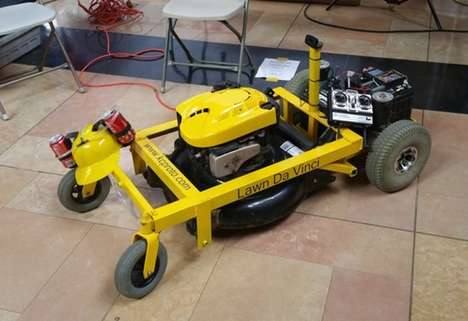 DIY Lawn Mowers - This Open-Source Lawn Mower Can Be Remotely Operated