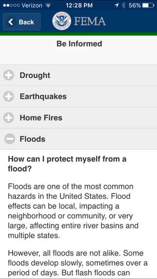Weather Response Apps - The New FEMA App Offers Weather Tips and Hazard Response Guidance