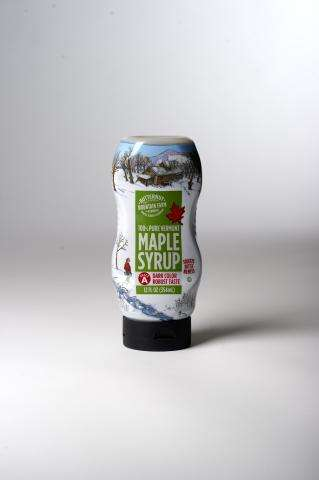 Squeezable Sweetener Bottles - Butternut Mountain Farm's Maple Syrup Bottle Encourages Daily Use
