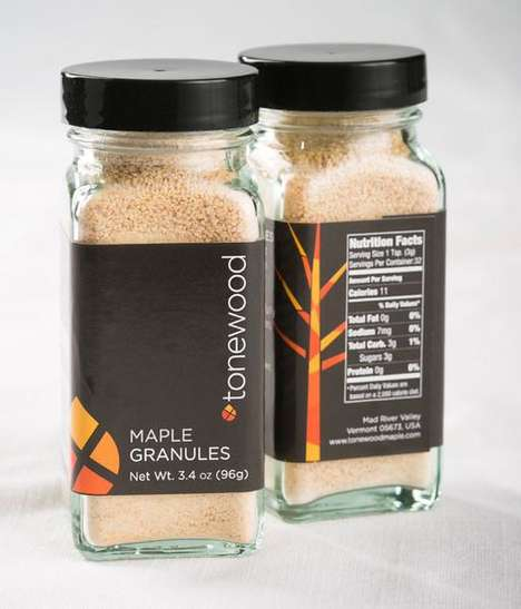 Granulated Maple Sweeteners - Tonewood's Maple Sugar Granules are an Alternative to Other Sweeteners
