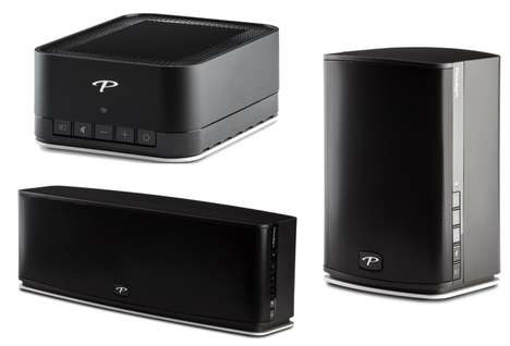 Dynamic Wireless Speakers - The Paradigm Wireless Speakers Offer Ultra High-Quality Streaming