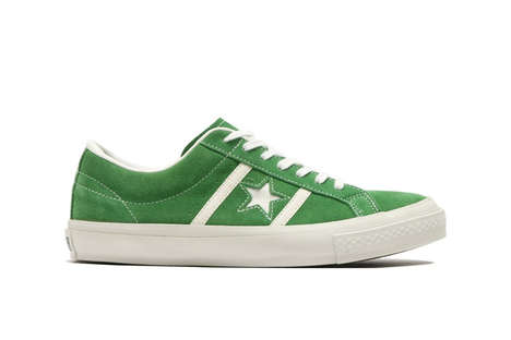 Retro Relaunched Sneakers - Converse Brought Back Its 'Star and Bars' Model Due to Popular Demand